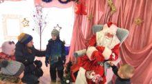 Встреча Деда Мороза в Лианозовском парке